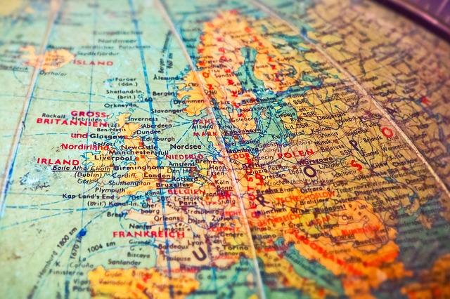 地図が読める地球儀