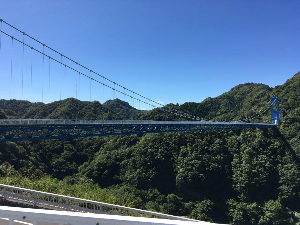 竜神大吊橋全景