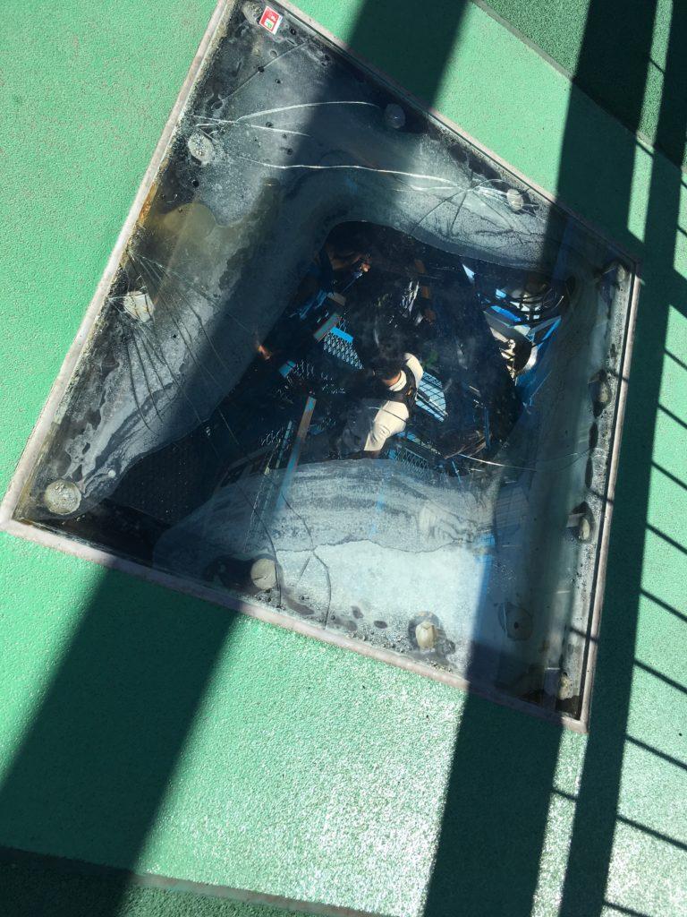 竜神大吊橋バンジーする人たち