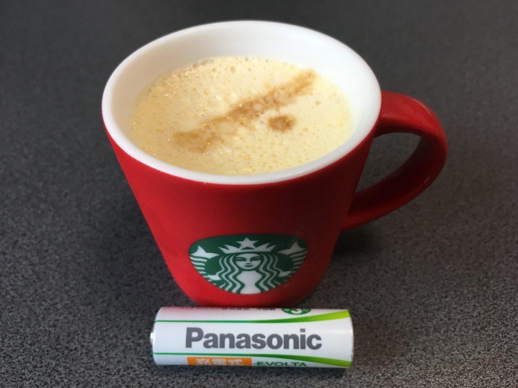 単三電池サイズのコーヒーカップ