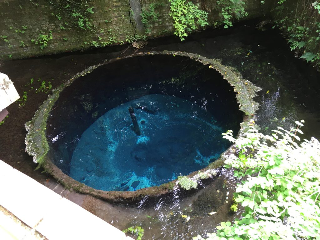 柿田川工場井戸の跡