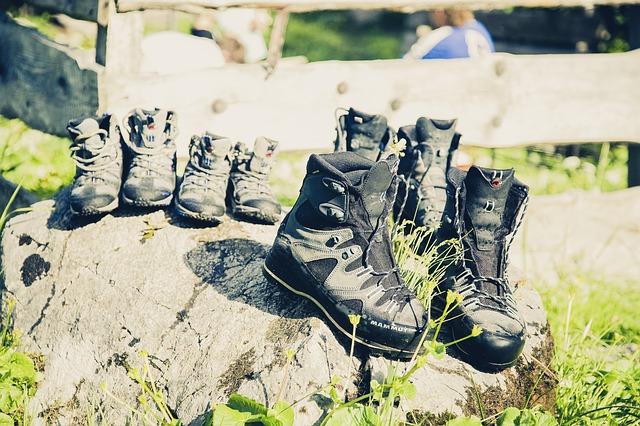 登山に必須な登山靴