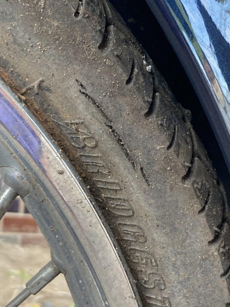 カブ スーパーカブ バイク リアタイヤ タイヤ
